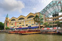 Clarke Quay Royalty Free Stock Images