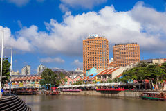 Clarke Quay, Singapore Stock Images