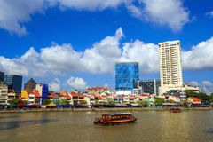 Clarke Quay, Singapore. Colorful  building in Clarke Quay, Singapore Royalty Free Stock Photography