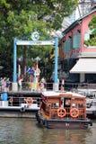 Clarke Quay, Singapur - Zdjęcie Royalty Free