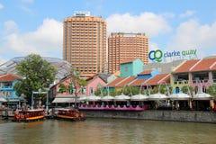 Clarke Quay, Singapur - Zdjęcia Stock