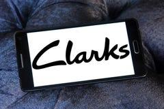Clarks logo Stock Photography