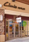 Clarks outlet. Royalty Free Stock Image