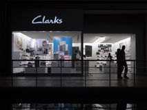 Clarks retail outlet Stock Photos