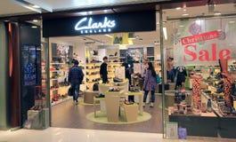 Clarks shop in Hong Kong Stock Photo