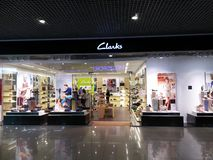 Clarks store Stock Photography