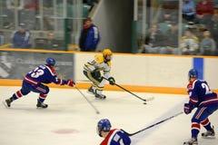 Clarkson #16 in NCAA Hockey Game Stock Photos