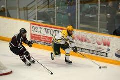 Clarkson #27 in NCAA Hockey Game Royalty Free Stock Photo