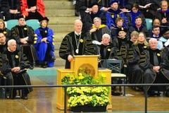 Clarkson-Hochschul-Graduierungsfeier 2014 Lizenzfreie Stockbilder