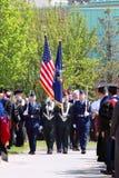 Clarkson Hochschulstaffelung-Zeremonie 2012 Stockbilder