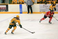 Clarkson #27 in NCAA Hockey Game Stock Photos