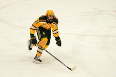 Clarkson #21 in NCAA Hockey Game Stock Images