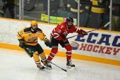 Clarkson #21 in NCAA Hockey Game Stock Photos