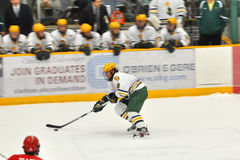 Clarkson Patrick Marsh in NCAA Hockey Game Stock Photo