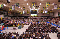 Clarkson University 2010 Graduation Ceremony Royalty Free Stock Images