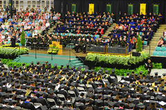 Clarkson University 2014 Graduation Ceremony Royalty Free Stock Photography