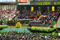 Clarkson University 2014 Graduation Ceremony Stock Photography