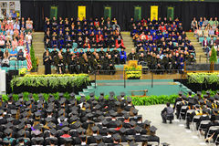 Clarkson University 2014 Graduation Ceremony Stock Image