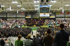 Clarkson University 2014 Graduation Ceremony Royalty Free Stock Photography