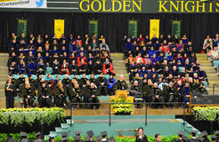 Clarkson University 2014 Graduation Ceremony Royalty Free Stock Images