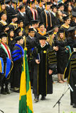 Clarkson University 2014 Graduation Ceremony Royalty Free Stock Photo
