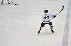 Clarkson University player in NCAA Hockey Game Royalty Free Stock Photos