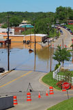 Clarksville Tn die 2010 overstroomt stock foto