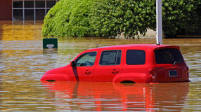 Clarksville Tn Flooding 2010 Royalty Free Stock Photo