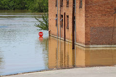 Clarksville Tn Flooding 2010 Royalty Free Stock Image
