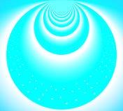 Claro - círculos azuis do céu ilustração stock