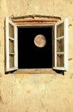 Claro de luna foto de archivo