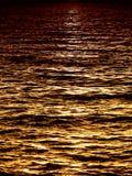 Claro de luna en el mar (1) Foto de archivo libre de regalías