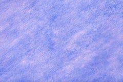 Claro - fundo azul da tela de feltro Textura da mat?ria t?xtil de l? foto de stock royalty free
