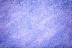 Claro - fundo azul da tela de feltro Textura da mat?ria t?xtil de l? imagem de stock royalty free