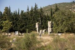Claros древний город Стоковое фото RF