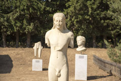 Claros the ancient city Stock Photos
