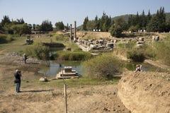 Claros la città antica Fotografie Stock Libere da Diritti