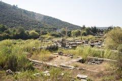 Claros la città antica Immagini Stock Libere da Diritti