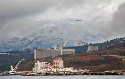 Clase al invierno Yalta Fotografía de archivo