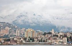 Clase al invierno Yalta Foto de archivo libre de regalías