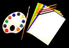 Clase de arte Imagen de archivo libre de regalías