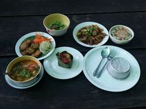 clase de cocina tailandesa Fotografía de archivo