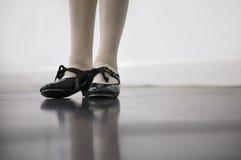 Clase de danza de golpecito Foto de archivo libre de regalías