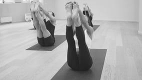 Clase de la yoga Ubhaya Padangusthasana