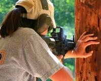 Clase de las armas de fuego fotografía de archivo libre de regalías