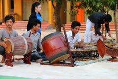 Clase de música tradicional Imagenes de archivo