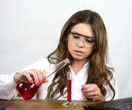 Clase de química Fotografía de archivo