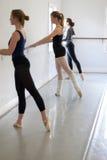 Clase del ballet Foto de archivo libre de regalías