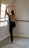 Clase del ballet Fotos de archivo libres de regalías