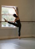 Clase del ballet Imagen de archivo